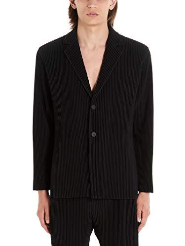 HOMME PLISSÉ ISSEY MIYAKE Luxury Fashion Mens Blazer Winter Black