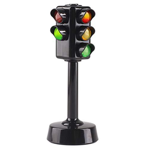 Auto Ampel Spielzeug, Mini Verkehrszeichen Licht Sicherheit Ampel Spielzeug Sammlung Modell Rot Grün Licht Lampe Lernspielzeug