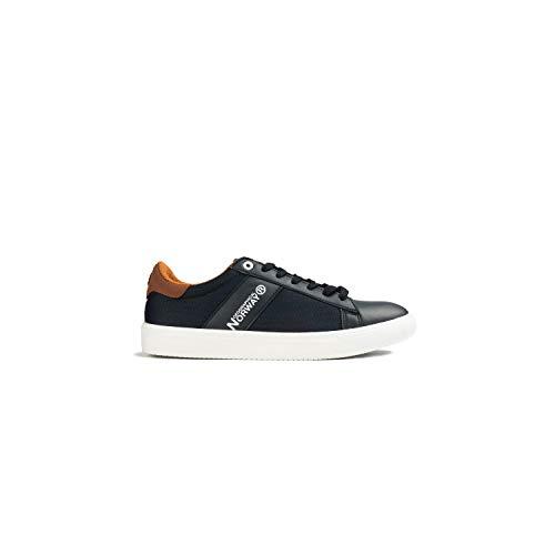 Geographical Norway - Zapatillas Deportivas Casual Hombre - Sneakers, Marino, 44
