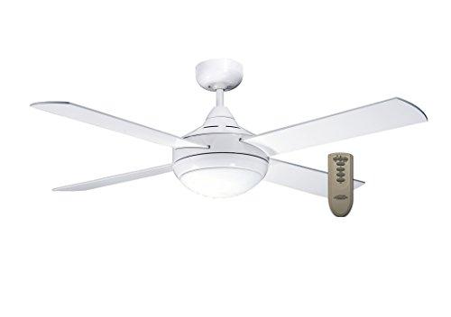 MARTEC Ventilador de techo, 60 W, Blanco