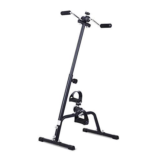 Mini bici de ejercicio Sentado ejercitador, Rehabilitación de bicicletas de ancianos superior y una extremidad inferior Formación bicicleta estática for su uso mientras se está sentado en una silla