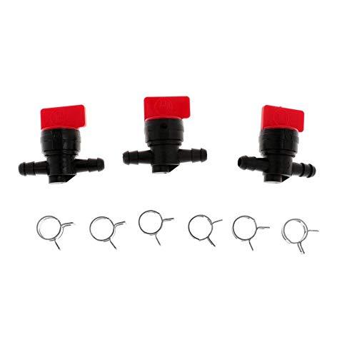 Asien Professionelle Kraftstoff-abschaltung Clamp Gerade Inline Kraftstoff Abschaltung Für Briggs & Stratton Murray Rasentraktor (3 Stück)