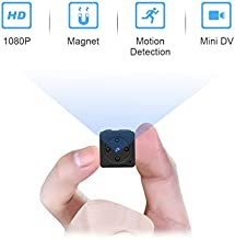 Mini SpyCameraWireless Hidden,MHDYT Full HD 1080P Portable Small CovertHome Nanny Cam with Motion Detection and Night Vision, Indoor/Outdoor Micro Security Surveillance Hidden Camera
