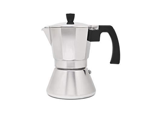 Cafetera espresso 6 tazas TIVOLI-inox (Induccion)