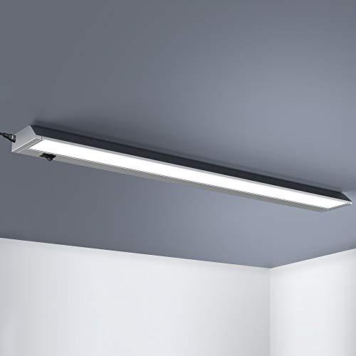 Monzana Unterbauleuchte XL 91cm schwenkbar 15 Watt 1200 Lumen LED Schrankleuchte Lichtleiste Deckenleuchte Einbauleuchte