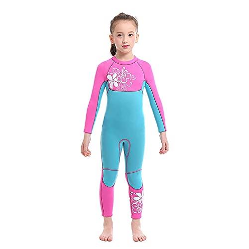 Neoprenanzug 3mm Junior Neoprenanzug, Kinder Monopiece Neoprenanzug Neopren-Swimwear-Neoprenanzug Ultrastretch (Size : S)
