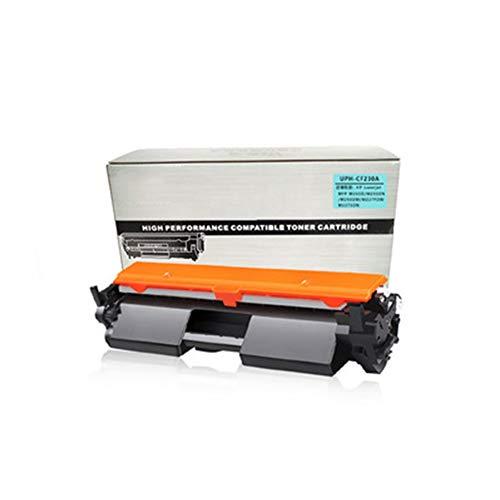 HGSA Cartuchos de tóner compatibles CF230A (1 paquete, negro), uso para impresoras láser HP Laser Jet Pro MFP M203D, 203DN, M203DW M227FDW y M227SDN