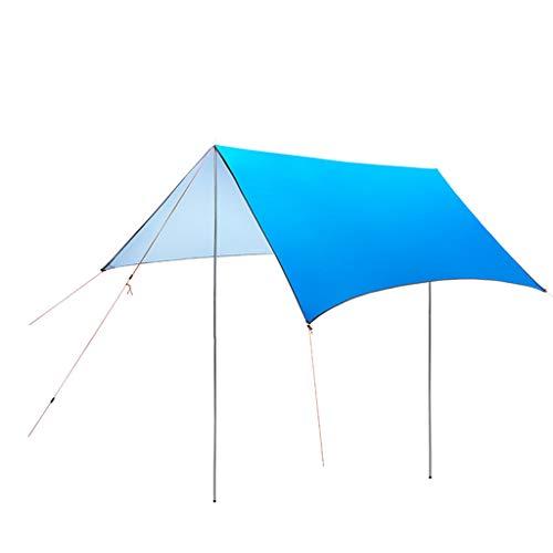 Bdclr Carpa Ultraligera para ProteccióN Solar, Pantalla De Playa Al Aire Libre,SapphireBlue