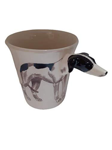 Windhund Tasse-Hund-e-tier-tasse 3d tasse-tier-motiv-form