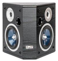 Wolf-Akustik Dipol-Surround-Lautsprecher Juno 55 schwarz Bipolar (Paar)