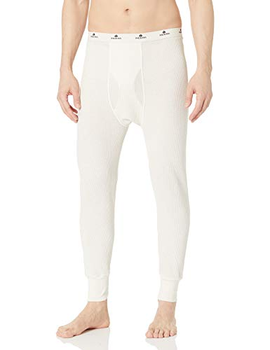 Indera Men's Traditional Long Johns Thermal Underwear Pant, Natural, X-Large