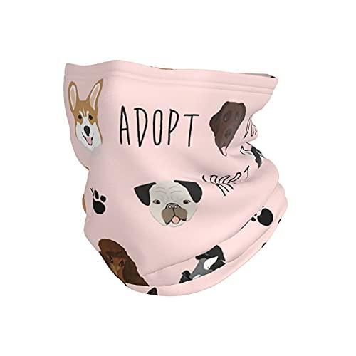 best& No Shop - Máscara de invierno para perro, gato, ideal para la cabeza, pañuelo para el cuello, pasamontañas