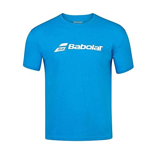 Babolat Exercise tee Boy Camiseta, Unisex niños, Blue Aster HTHR, 10-12 años
