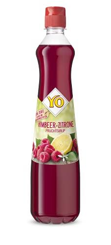 YO Sirup Himbeer-Zitrone, 700 ml