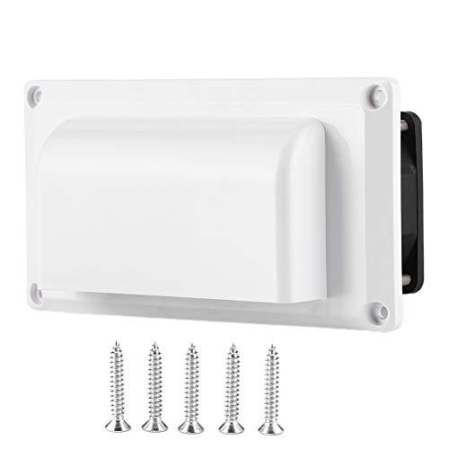 Ventilador de ventilación lateral de 12V RV, ventilador de escape de ventilación de aire lateral 12V 25W para RV, caravana, autocaravana, remolque, barco, yate marino