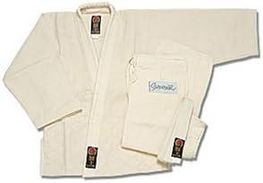 Proforce Fashion Gladiator Judo Gi Uniform 7 At the price of surprise Natural - Size White