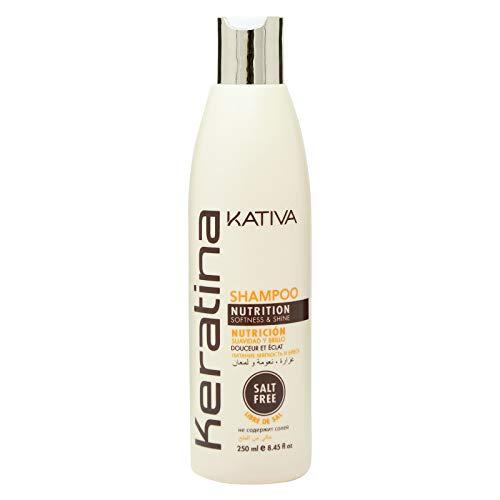 Kativa Champu Nutrición y Reconstrucción Keratina 250 ml