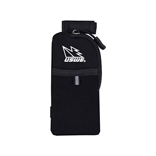 USWE Sports Poche pour téléphone, Noir, Taille Unique.