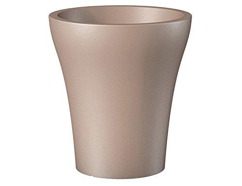 Scheurich 55461 264/43 No1 Style High Pot de Fleurs Plastique Living Taupe 39 x 39 x 43 cm