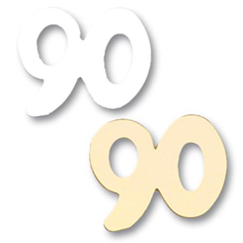 efco Pailletten 90, Kunststoff, Gold/Silber, 13mm, 20g