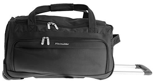 Metzeller Explorer Travel Bag Soft Suitcase Black Black (Black) S Cabine Small 56x26x28cm 42L 1,5kg