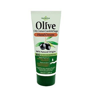 HerbOlive Handcreme *Olivenöl, Kretischer Johannisbrotbaum & Salbei* 100ml