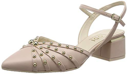 lodi Calista, Zapatos con Tacon y Correa de Tobillo para Mujer, Rosa Miko Cipria, 40 EU