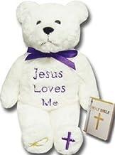 Teddy Bear Holy Bears 8 Approx Stuffed Animal HB001 8 Approx Stuffed Animal Godfather Bear