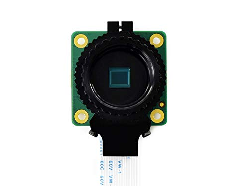 Waveshare Raspberry Pi Camera 12.3MP IMX477 Sensor Supports C- and CS-Mount Lenses…