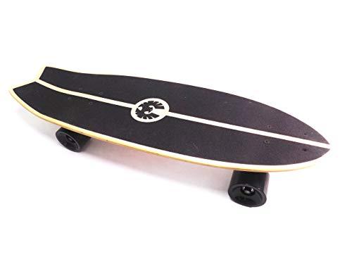 Rekon 28' x 9' Complete Single Kick Surf Cruiser Skateboard