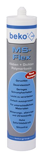 BEKO 2462903 MS-Flex Kleb- und Dichtstoff 300 ml GRAU