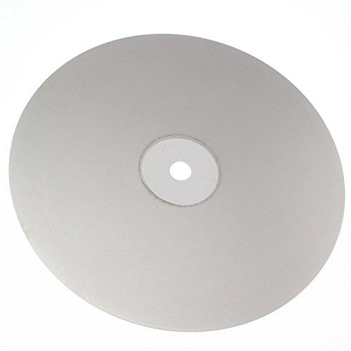Drilax G1500 - Disco de alta densidad con revestimiento de diamante para solapar y soldar de 8 pulgadas, con parte trasera de metal, 1/2 brazo (G1500)