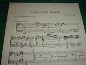 Samuel Barber Commando March for Band Set of Parts - AS-IS