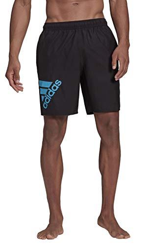 adidas GM2212 Big BOS CLX CL Costume da Nuoto Uomo Black/Shock Cyan S