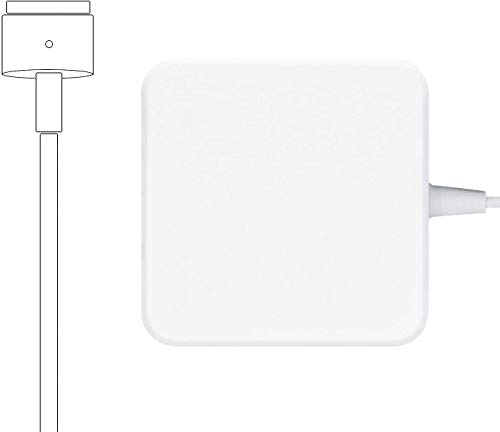 Mac Book Air Charger, 45W Magnetic T-Tip Replacement Power Adapter Compatible with Magsafe 2 MacBook Air 11 inch and 13 inch After Mid 2012