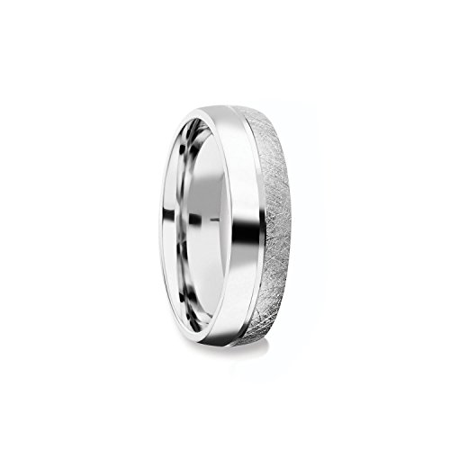 Herrenring Silber 925 Ehering Trauring Hochzeitsring Herren flach Verlobung Verlobungsring Herren Herr Freundschaftsring modern schlicht FF384 SS92558