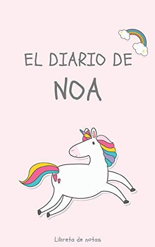 El Diario de Noa Libreta de Notas: Cuaderno con 110 Páginas | Páginas con Rayas Horizontales y en Blanco | Regalo Perfecto Para Niñas | Desconecta de las Pantallas