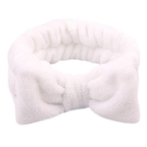 Mentin Bandeau cheveux Femme Pour le maquillage et les soins du visage, Tête de Douche Wrap Hairband Visage SPA élastique (9#)