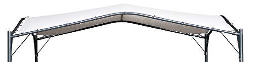 TrendLine Ersatzdach 3,5 x 3,5 m weiß für Pavillon San Diego Pavillondach