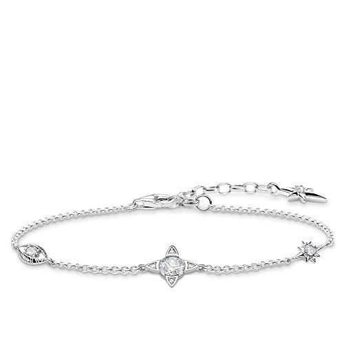 Thomas Sabo Damen-Armband Kleine Glücksbringer silber 925 Sterlingsilber A1918-051-14-L19v