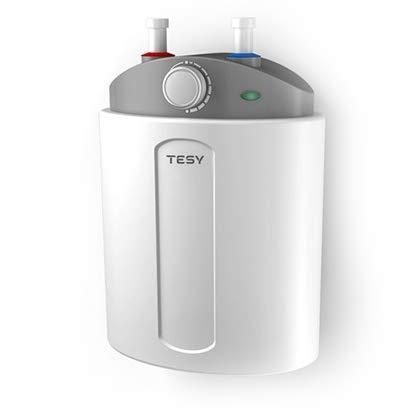 Tesy Compact - Termo de Agua Eléctrico Compacto de 6 Litros Con Tomas Superiores y Alta Eficiencia Energética. [Clase de eficiencia energética A]