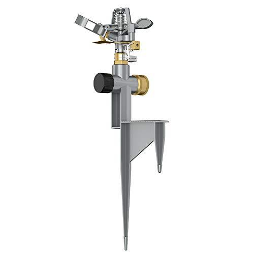 VLAY Zinc Pulsating Sprinkler with Metal Step Spike