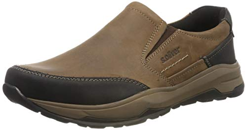 s.Oliver Herren 5-5-14200-23 Slipper, Braun (Brown 300), 42 EU