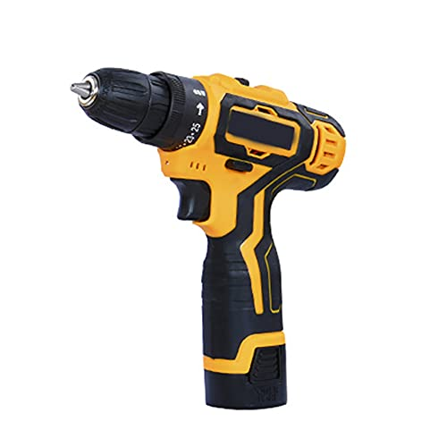 Zhiping Electric Cordless Drill Screwdriver LED 2-Speed Multifunctional Home DIY Tool