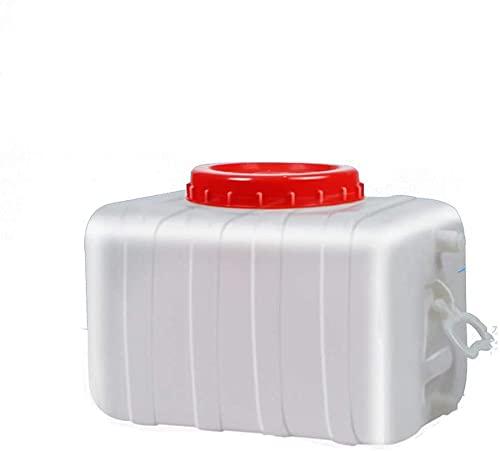 qwert Bote De Agua 28L Cuadrado Horizontal Corriendo con Soporte De Agua De Pequeña Capacidad con Grifo Tanque De Agua Camping Tanque De Agua Cubo De Agua