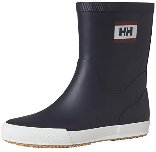 Helly-Hansen Womens Nordvik 2 Lightweight Waterproof Rain Boot, 597 Navy, 10