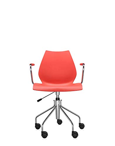 Kartell Maui Soft Draaibare fauteuil Paars