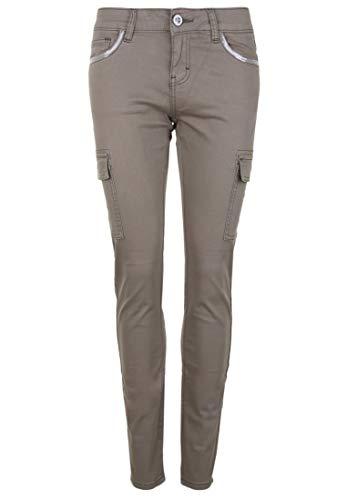 Blue Monkey Damen Jeans Caro 30153 Pailletten