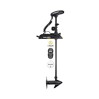 Minn Kota 1358805 Terrova Trolling Motor with 54-Inch Shaft, and i-Pilot GPS, 12-Volt, 55-Pound