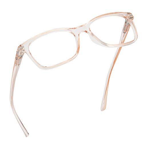 Readerest Blue Light Blocking Reading Glasses (Blush, 1.50 Magnification)